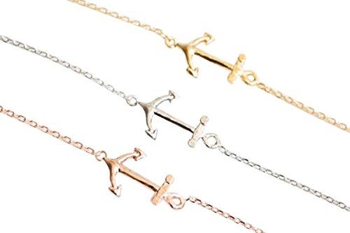mothers day girlfriend hippie inspirationalhandmade friendshipfashion jewelry for teens women girls Anchor Anklet-A