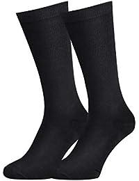 98751a304adc Mens Dress Socks - Men's Cotton Seamless Toe and Non-Binding Top Men Casual  Dress