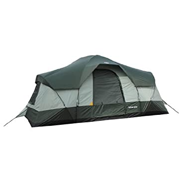 Tahoe Gear Olympia 10-Person 3-Season Family Camping Tent (Green)