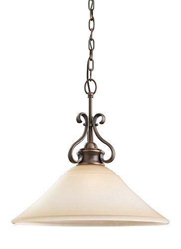 - Sea Gull 65380EN-829 Parkview Pendant, 1-Light 9 Watts, Russet Bronze