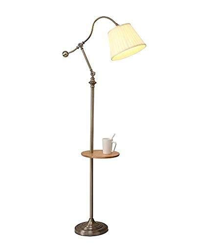 AJZXHE Lámpara de pie nórdica Sala de Estar sofá lámpara de ...