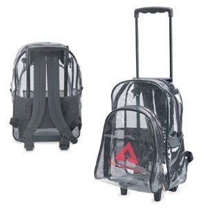 Clear Backpack With Wheels (Clear Backpack With Wheels)