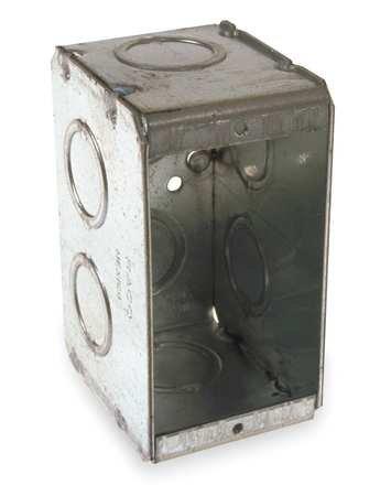 Electrical Box, Masonry, 1 Gang