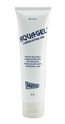 SPECIAL PACK OF 3-Aquagel Lubricating Jelly 5 oz Flip-Top Tube (Lubricating Personal Jelly)