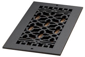 6 X 14 CAST Iron Vent Cover (AIR Return) Without Screw Holes