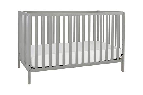 Union 3-in-1 Convertible Crib, Grey (Babies R Us Crib To Toddler Bed)
