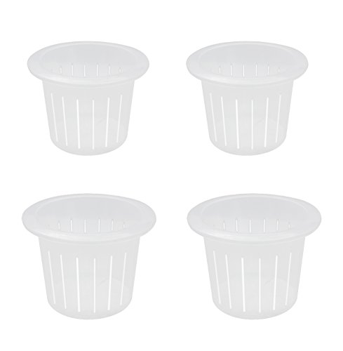 coisound 1688 Orchid Breathable Slotted Clear Plastic Pot - Growers Assortment (4 pots - Two of them are 9'',10'') by coisound 1688