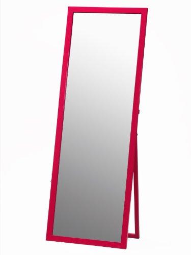 鏡面ジャンボスタンドミラー ショッキングPINK 艶 幅60㎝×高さ170㎝ 飛散防止 B00T7F3PYM ショッキングピンク ショッキングピンク
