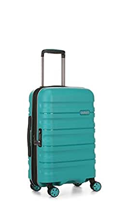 Antler 4227129019 Juno 2 4W Cabin Roller Case Carry-Ons (Hardside), Teal, 56 cm