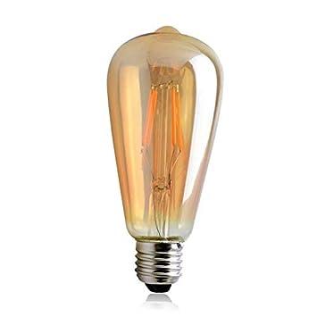 LINSUNG filamento bombillas Edison filamentos de estilo jaula ...
