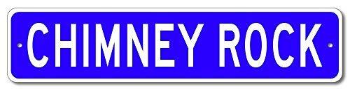 VinMea Custom Sign Chimney Rock, Wisconsin US City Name Sign - Blue - 4