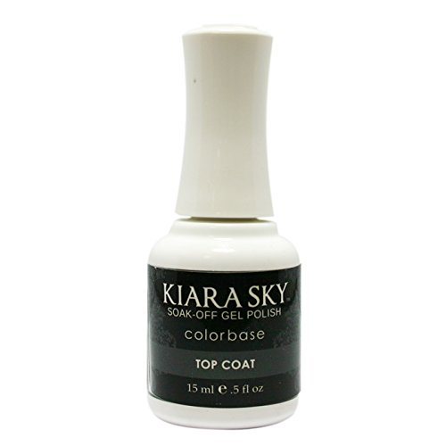 Kiara Sky Soak Off Gel Polish Top Coat