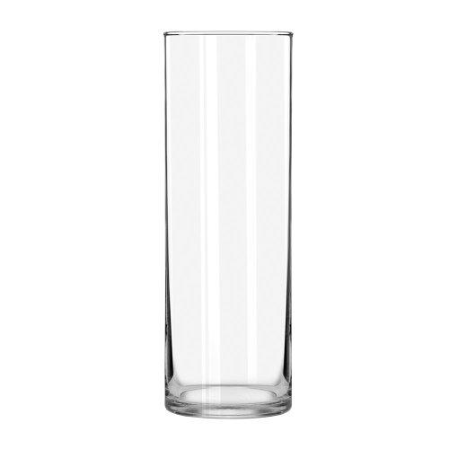 (Libbey Cylinder Vase, 10-Inch, Clear, Set of)