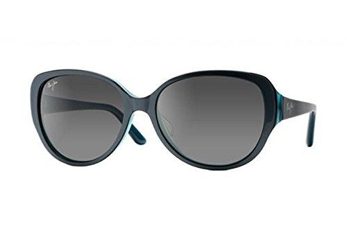 Maui Jim - Swept Away - Blue Grey With Teal Interior Frame-Neutral Grey Polarized ()