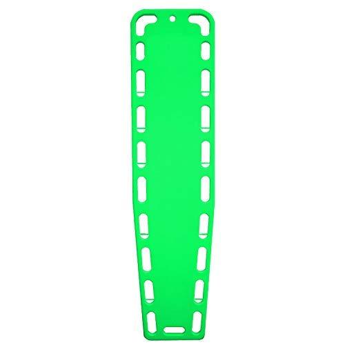 (ASATechmed Base Board Patient Transfer Spine Board, EMT Backboard, Stretcher Immobilization (Green))