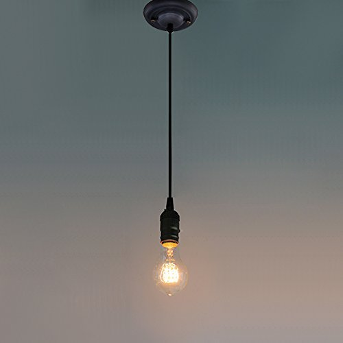 Ecopower Vintage Hanging Pendant Light Fixture Come With