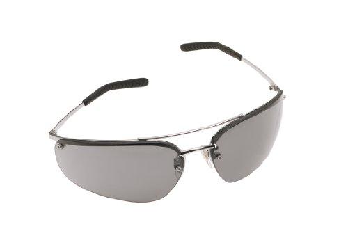 Gray Polished Frame - 3M Metaliks Protective Eyewear, 15171-10000-20 Gray Anti-Fog Lens, Polished Metal Frame (Pack of 1)