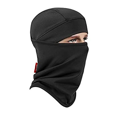 Balaclava Aegend Windproof Ski Face Mask Winter Motorcycle Neck Warmer Tactical Balaclava Hood Polyester Fleece for Women Men Youth Snowboard Cycling Hat Outdoors Helmet Liner Mask, 1 Piece