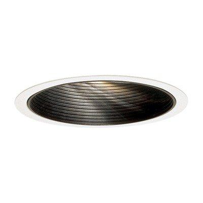 Lytecaster Recessed Adjustable Reflector Trim Series 1100 Finish / Flange: Matte White Baffle / No Lightolier Lytecaster Incandescent Reflector Trims
