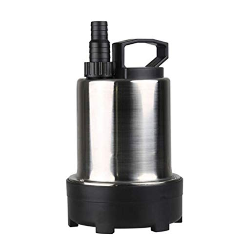 DDSS Water pump Stainless Steel Submersible Pump 220V Pond Fish Pond Water Pump Fish Tank Aquarium Water Changer 100W /-/