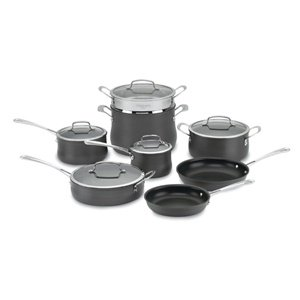 Cuisinart 64-13 Contour Hard Anodized 13-Piece Cookware Set by Cuisinart