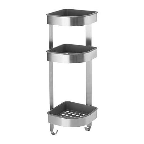 Ikea Mensole Angolari.Ikea Brogrond Mensola Angolare Da Parete 19 X 58 Cm In