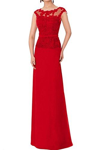 Rot Festlichkleider Abendkleider Braut Ballkleider La Damen Cocktailkleider Spitze Langes Braun Abschlussballkleider mia Z4xqPySwO