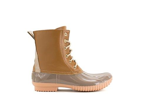 Rain Waterproof Boot Rosetta Avanti Womens Grey Duckboots Tan xqtInT