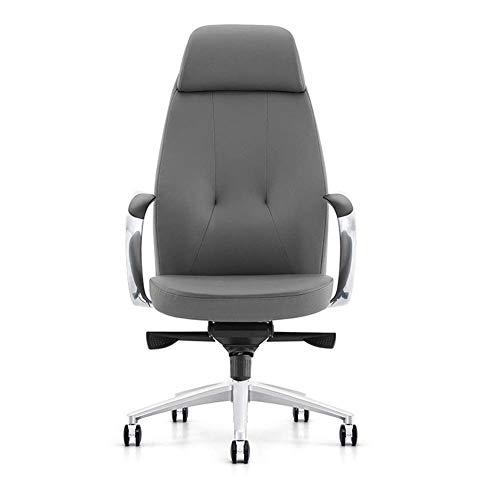 Kontorsstol PU-läder svängstol verkställande stol PC skrivbord datorsäte höjd justerbar