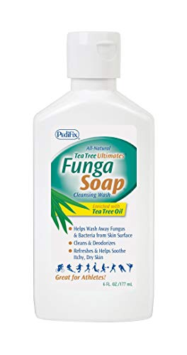 PediFix FungaSoapLiquid with Tea Tree Oil, 6 oz.