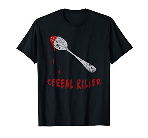 Cereal Killer Shirt, Funny Halloween Costume -