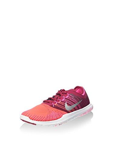 Nike 831579-600 - Zapatillas de deporte Mujer Naranja (Bright Crimson / Metallic Silver / Noble Red)