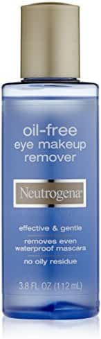 Neutrogena Oil - free Eye Makeup Remover, 3.8 Fluid Ounce (Pack of 2)