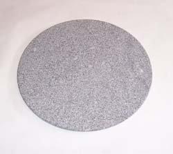 Zebra Bistro Granit Tischplatte Rund 70cm Amazon De Garten