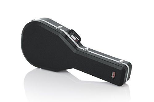 Gator Cases Deluxe Molded Case for Taylor GS Mini Acoustic Guitars (GC-GSMINI)