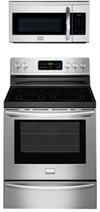 Electric Kitchen Ranges (Frigidaire Gallery Series 2 Piece Kitchen Package With FGEF3035RF 30