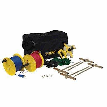 AEMC 2135.36 Test Kit for Ground Resistance Tester, 4 points, 300ft by AEMC