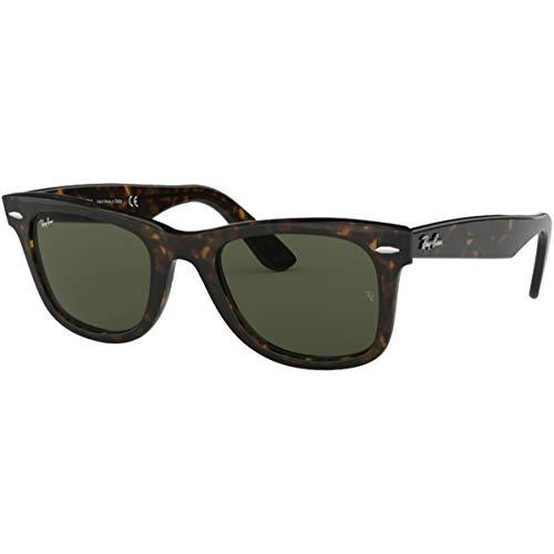Ray-Ban Sunglasses - RB2140 Wayfarer / Frame: Tortoise Lens: Green (54mm) (Best Mens Glasses Frames 2019)