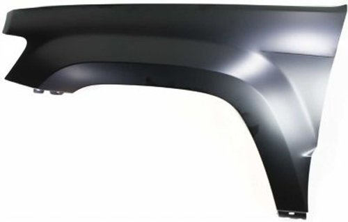Crash Parts Plus Front Driver Side Primed Fender Replacement for 2005-2010 Jeep Grand Cherokee (Replacement Jeep Cherokee Fender)
