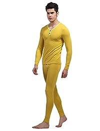 Apparelsales Mens Cotton Underwear Stretch Legging Long Pants Trousers Tights