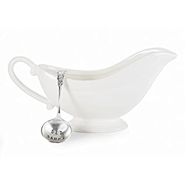 Mud Pie 2 Piece Gravy Boat Set