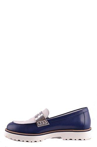 Leather Blue MCBI148535O Hogan Women's Loafers 6nFxfBx