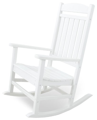 Ivy Terrace Rocking Chair, White