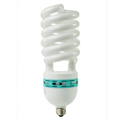 - Eiko 81184 - SP105/41/MED - 105 Watt Spiral Compact Fluorescent Light Bulb, 4100K, Medium Base