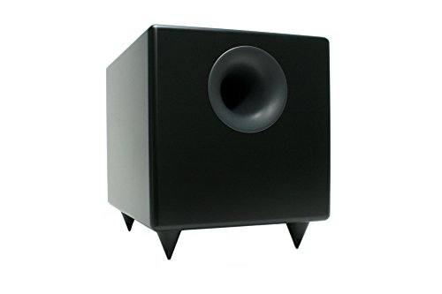 Audioengine S8 Black 8-inch Powered Subwoofer by Audioengine