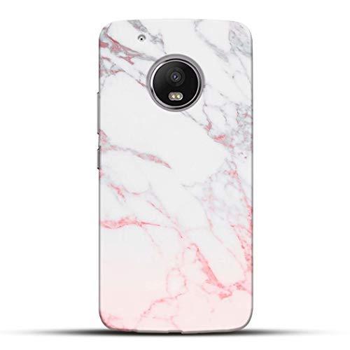 Pikkme Amazing White Marble Designer Printed Hard Back Case and Cover for Motorola Moto G5 Plus