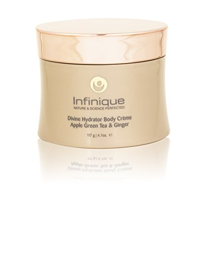 Infinique Dry Skin Moisturizing Cream Hydrator - Infused With Apple, Green Tea and Ginger, Nourishes and Delivers Mega Moisture To Prevent Dull Skin, Leaving It Soft, Smooth and Glowing, Organic