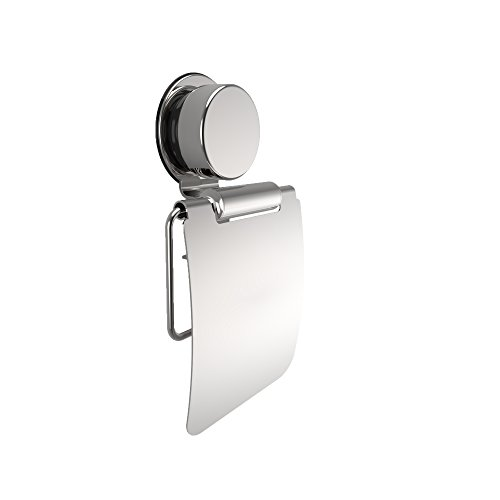 Lavish Home Wall Mounted Paper Roll Holder with Flap-Toilet