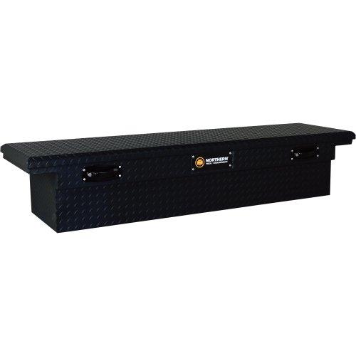 toolbox for truck bed matte black - 3