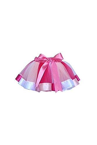 Ballet Enfants Robe De Princesse Jupes Tutu Fête Des Filles Yuchei Danse Pettiskirt De M